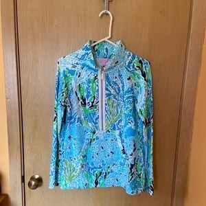 Lily Pulitzer Zip Popover Sweatshirt